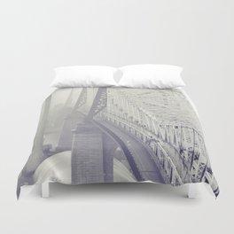 59th street bridge... Duvet Cover