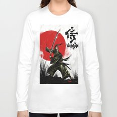 Samurai Warrior Long Sleeve T-shirt