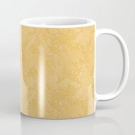 Faux Yellow Stucco Stone Wall Texture - Industrial Art Coffee Mug