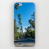 los angeles iPhone & iPod Skins featuring Los Angeles by Luke Callow