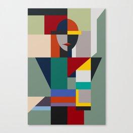 NAMELESS WOMAN Canvas Print