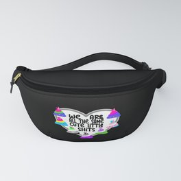 We Are All Equal To CSD Flags Fanny Pack