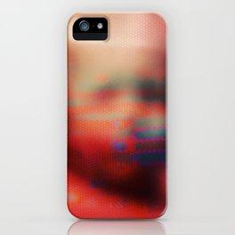 Ghost Glitch iPhone Case