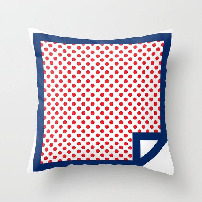 Lichtenswatch - Cold Shoulder Throw Pillow