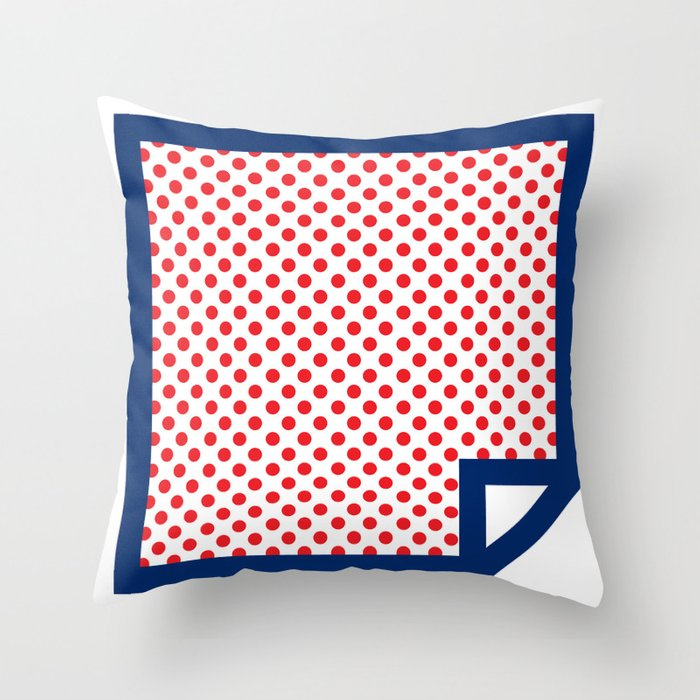 Lichtenswatch - Cold Shoulder Throw Pillow