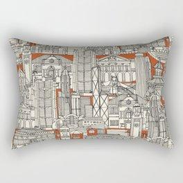 Hong Kong toile de jouy Rectangular Pillow