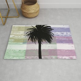 Palm and colors Rug