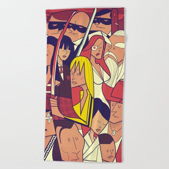 Kill Bill Beach Towel
