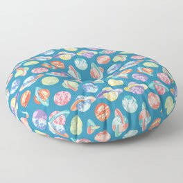 Colorful Planets Pattern Floor Pillow