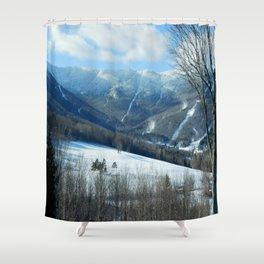 Ski Trails at Sugarbush Resort, Vermont Shower Curtain