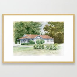 Buford Home Framed Art Print