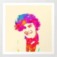 harry Art Prints featuring Harry by deff