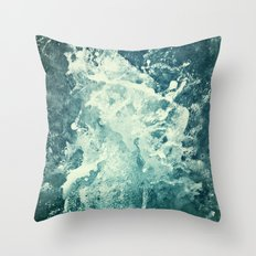 Water IV Throw Pillow
