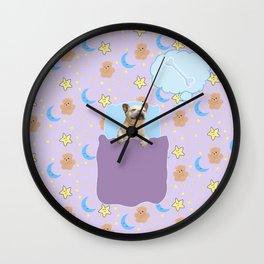 Sleepy boi Wall Clock