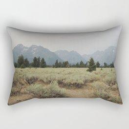 Rocky Mountain Paradise Rectangular Pillow