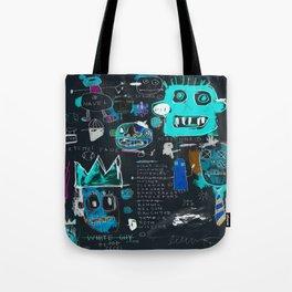 Basquiat Night Tote Bag