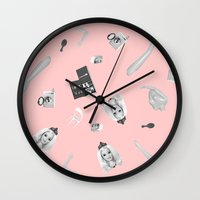 barbie Wall Clocks featuring Barbie Doll by Wizard No Heart
