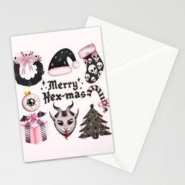 Merry-HexMas Stationery Cards