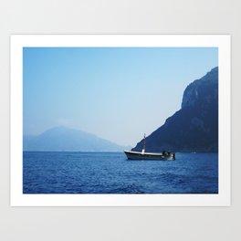 Fisherman of Capri Art Print
