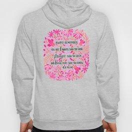 Always Remember – Pink Ombré Palette Hoody