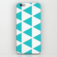 Sleyer Blue on White Pattern iPhone & iPod Skin
