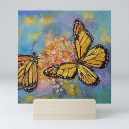Monarch Butterflies Mini Art Print