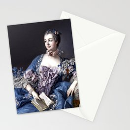 Madame De Pompadour Stationery Cards