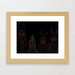 Quartet Of Terror Framed Art Print