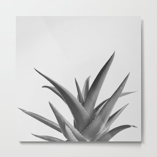 Leaves II Metal Print
