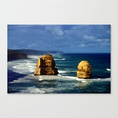 Limestone Rock Stacks & Headlands Canvas Print