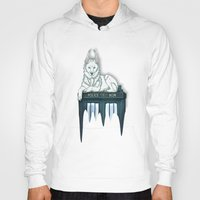 bad wolf Hoodies featuring BAD WOLF by Emma Lindkvist