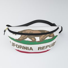 Flag of the State of California Fanny Pack