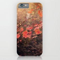 Autumn Leaves of Red iPhone 6s Slim Case