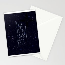 Good Night till Morrow Stationery Cards