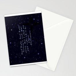Good Night till Morrow Stationery Cards