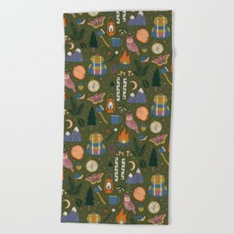 Into the Woods Beach Towel
