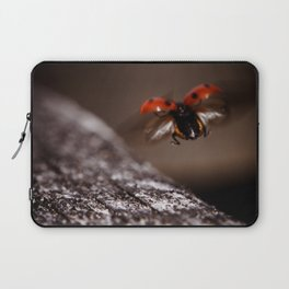 Ladybird in flight Laptop Sleeve