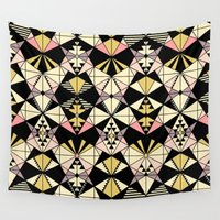 kaleidoscope Wall Tapestries featuring Kaleidoscope by Kimsa