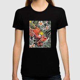 japanese dragon 2 T-shirt