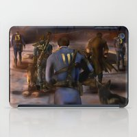 fallout iPad Cases featuring Fallout Tribute by Hetty's Art