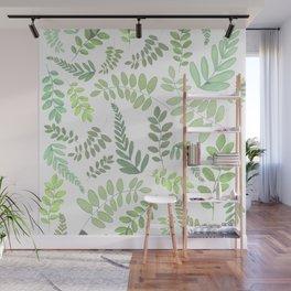 Lighter plant pattern Wall Mural