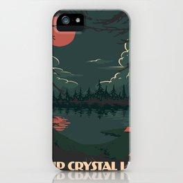 Visit Camp Crystal Lake iPhone Case