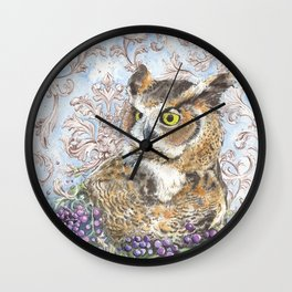 Wisdom and Beauty Wall Clock