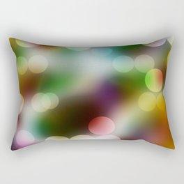 Bokeh 8. Rectangular Pillow