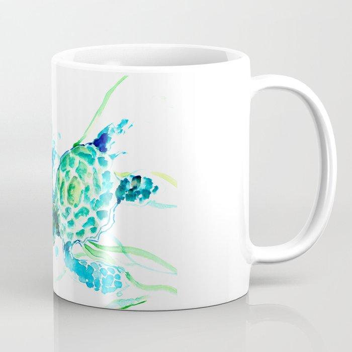 Sea Turtles, Turquoise blue Design Coffee Mug