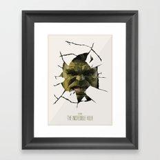 Hulk Framed Art Print