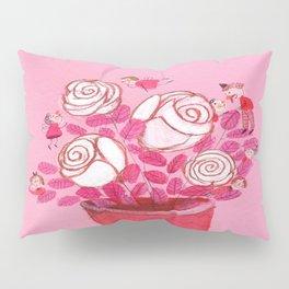 Beautiful White Lilies Pillow Sham