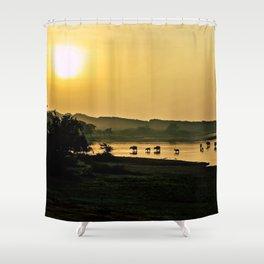 Sri Lankan Safari Shower Curtain