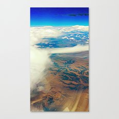 Somewhere Over the Desert Canvas Print