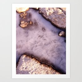Winter Island III Art Print